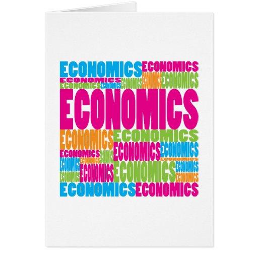 Colorful Economics Cards