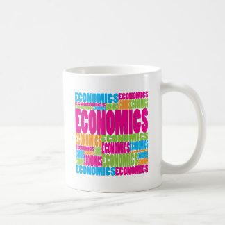 Colorful Economics Coffee Mugs