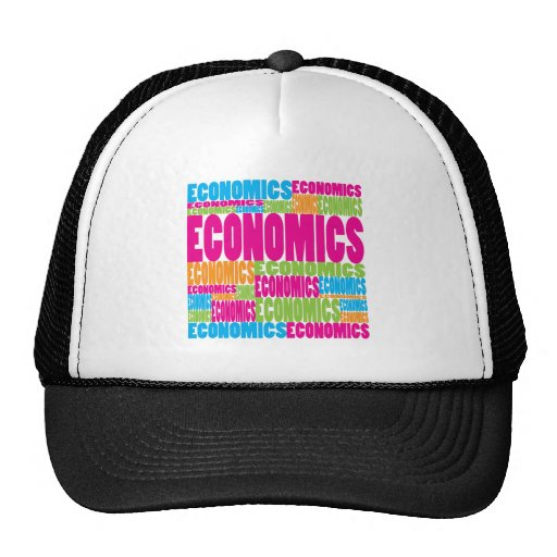 Colorful Economics Trucker Hat