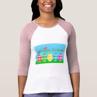 Colorful Egg Border T-Shirt