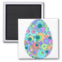 Colorful Egg Magnet