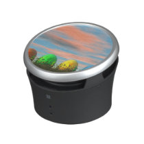 Colorful eggs for easter - 3D render Bluetooth Speaker