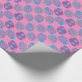 Colorful Eggs Wrapping Paper