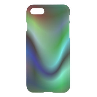 Colorful electric waves iPhone 8/7 case