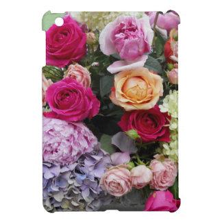 Colorful Elegant Bouquet of Flowers Roses iPad Mini Cover