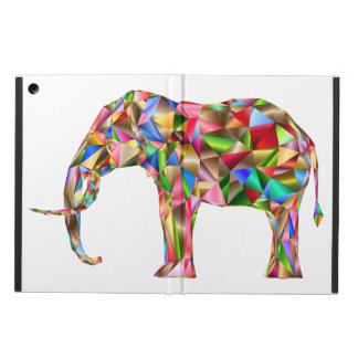 Colorful elephant iPad air cases