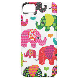 Colorful elephant kids pattern iphone case iPhone iPhone 5 Cases