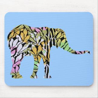 Colorful Elephant Mousepads