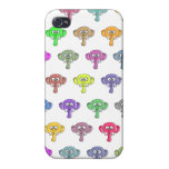 Colorful Elephants Cover For iPhone 4
