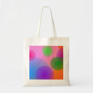Colorful Ellipses Tote Bag