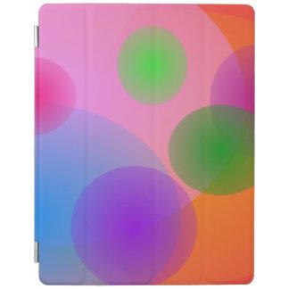 Colorful Ellipses iPad Cover