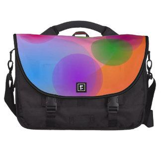 Colorful Ellipses Commuter Bags