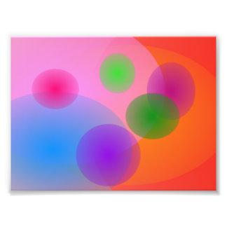 Colorful Ellipses Photo