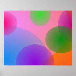 Colorful Ellipses Print