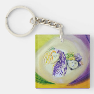 Colorful Elves Keychain