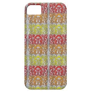 Colorful Embossed Pattern Art NVN170 navinJOSHI iPhone SE/5/5s Case