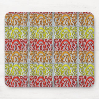 Colorful Embossed Pattern Art NVN170 navinJOSHI Mouse Pads