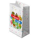 Colorful Emoji Birthday Party Kids or Boys Custom Small Gift Bag