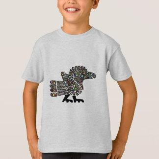 Colorful Emoji Quetzalcoatl Teotihuacan Mexico T-Shirt