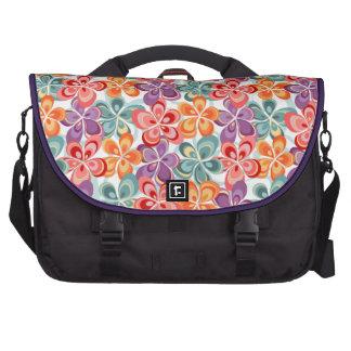 Colorful Enamel Floral Decor Bag For Laptop