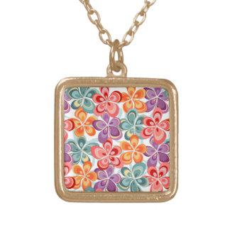 Colorful Enamel Floral Decor Custom Jewelry