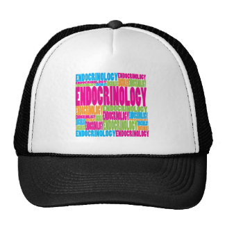 Colorful Endocrinology Hats