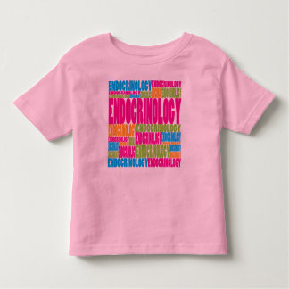 Colorful Endocrinology T-shirt