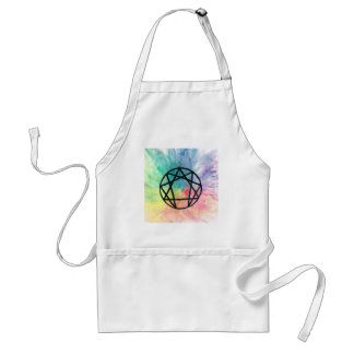 Colorful Enneagram Adult Apron