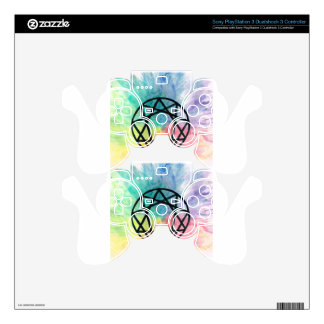 Colorful Enneagram PS3 Controller Skin