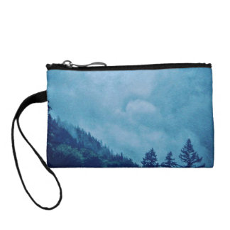 Colorful Enveloping Fog Key Coin Clutch