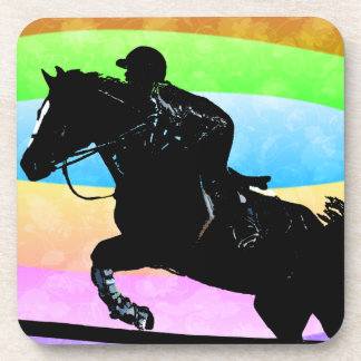 Colorful Equestrian Horse Cork Coaster