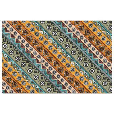 Colorful ethnic aztec patterns design tissue paper