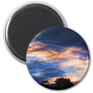 Colorful Evening Sky Magnet
