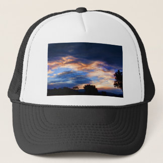 Colorful Evening Sky Trucker Hat