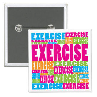 Colorful Exercise Button