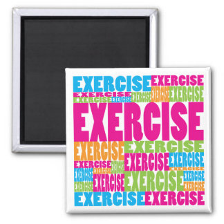 Colorful Exercise Magnet