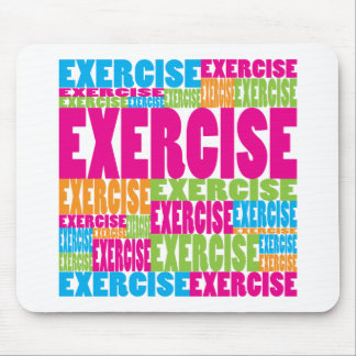 Colorful Exercise Mouse Pad