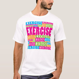 Colorful Exercise T-Shirt