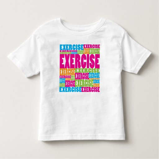 Colorful Exercise Tees