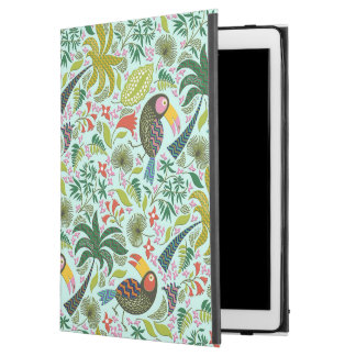 Colorful Exotic Birds And Palm iPad Pro Case