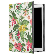 """Colorful Exotic Hibiscus Pattern iPad Pro 12.9"""" Case"""