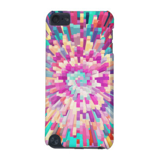 Colorful Exploding Blocks Design iPod Touch (5th Generation) Case