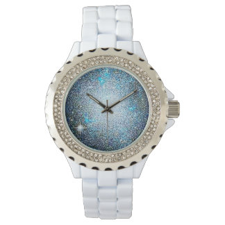 Colorful Exploring Space Rhinestone Watch