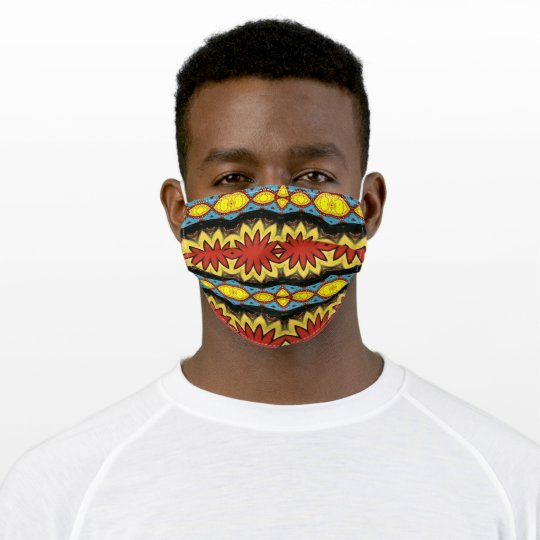 Colorful Eye-Catching Cloth Face Mask