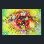 """Colorful Eyes Placemat<br><div class=""""desc""""></div>"""