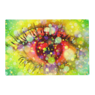 Colorful Eyes Placemat