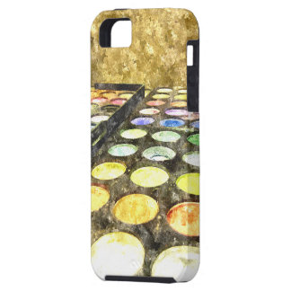 Colorful Eyeshadow makeup Palette iPhone 5 Covers
