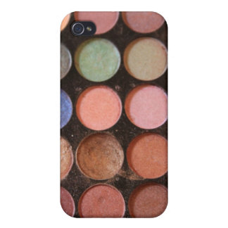 Colorful eyeshadows cover for iPhone 4