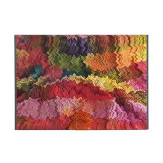 Colorful Fabric Abstract iPad Mini Case