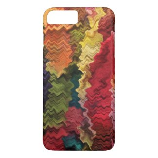 Colorful Fabric Abstract iPhone 7 Plus Case